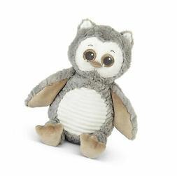 Bearington Baby Owlie Hugs-A-Lot Plush Stuffed Animal Gray O
