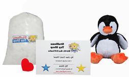 Make Your Own Stuffed Animal Mini 8 Inch Tux the Penguin Kit