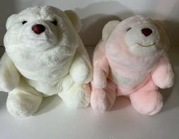 """pair of gund 1980 snuffles 13"""" bears plush stuffed animals"""