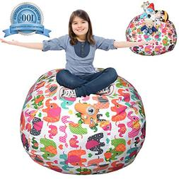 Extra Large Stuffed Animal Storage Bean Bag Cover | Europe