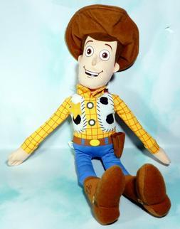 Disney Park Pixar plush stuffed doll Toy Story Woody 15 inch