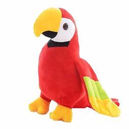 Parrot Plush Bird Stuffed Animal Toy Lifelike And Cute Kids