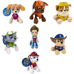 PAW PATROL PLUSH PUP PALS , COMPLETE SET OF ALL 7 - RYDER ZU
