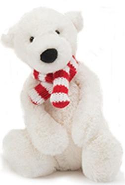 Jellycat Pax Polar Bear, Small, 7 inches