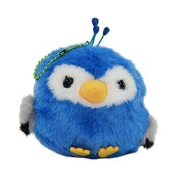 Peacock Plush Keychain Parrot Cute Stuffed Animal Bird Toy S