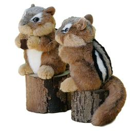 "Peanut Chipmunk Plush Toy 6"" Stuffed Animal House NEW"