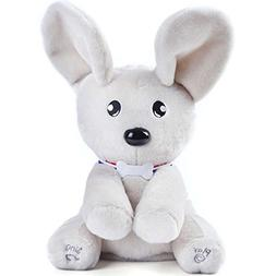Peek-A-Boo Dog Stuffed Animals, Soft Cute with Singing Flapp