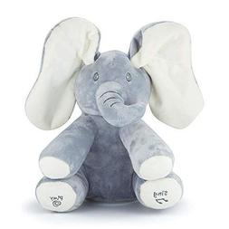 Mefashion Peek a Boo Plush Toy Elephant Animated Talking Sin