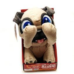 Peek-A-Boo Pug Puppy Plush - Battery Operated/Motion & Sound