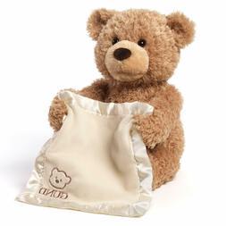 GUND Peek-A-Boo Teddy Bear Animated Stuffed Animal Plush, 11