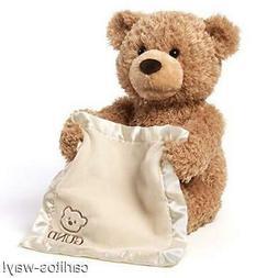 GUND Peek-A-Boo Teddy Bear Animated Stuffed Animal Plush 11.