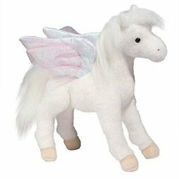 "Douglas  Jewel PEGASUS 12"" Plush Stuffed Animal Winged Horse"