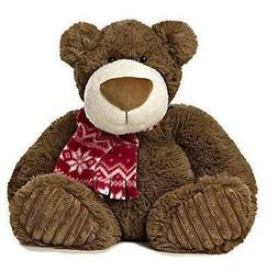 "Peppermint Mocha Bear Small 12"" by Aurora - Stuffed Animals"