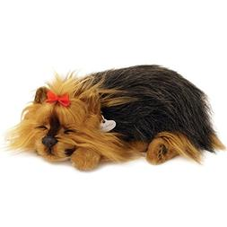 Perfect Petzzz Yorkie Breathing Puppy Dog Plush Set w/Carrie