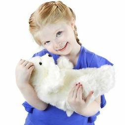 Persephone the Polar Bear   12 Inch Stuffed Animal Plush   B