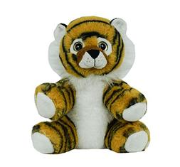"BEARegards Personal Recordable Talking Teddy Bear 8"" TIGER w"