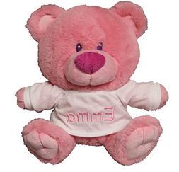Personalized Baby Girl Bear with T-Shirt Sitting Plush Stuff