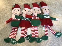 Personalized Elf Christmas Elves Plush stuffed animals Boys