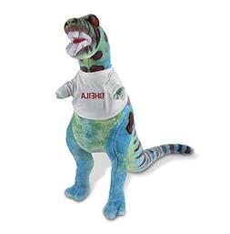 Melissa & Doug Personalized Giant T-Rex Dinosaur Lifelike St