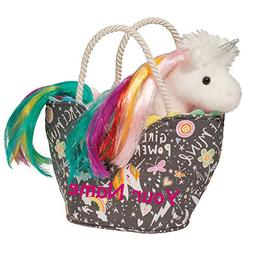 Personalized Douglas Girl Power Rainbow Hair Mane Unicorn Sa