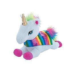 Personalized Rainbow Super Unicorn With Cape