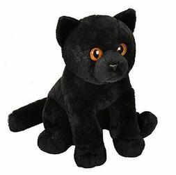Wild Republic Pet Shop Cat Plush, Black