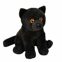 Wild Republic Black Cat Plush, Stuffed Animal, Plush Toy, Gi