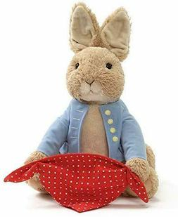 GUND Peter Rabbit Peek-A-Boo Plush Animated Toy gifts for bi