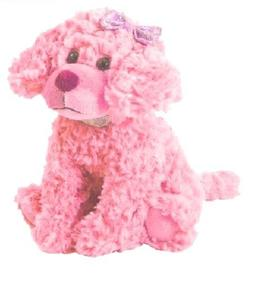 The Petting Zoo Posh Plush Pink Scruffy Dog - 11 Inches