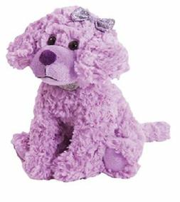 The Petting Zoo Posh Plush Purple Scruffy Dog - 11 Inches