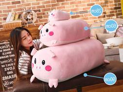 Pig Hugging Pillow Plush Stuffed Animals Toy Sleeping Pillow