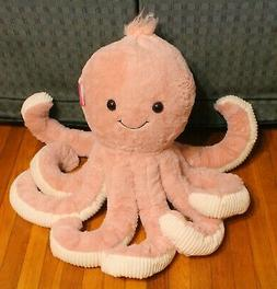 "PINK OCTOPUS PLUSH 36"" Large Stuffed Animal Valentine's Day"