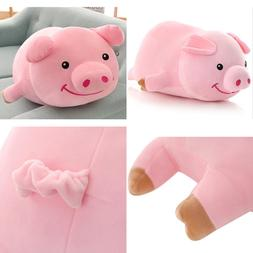 "Dongcrystal 19.6"" Pink Sleeping Pig,Soft Plush Piggy Toy - S"