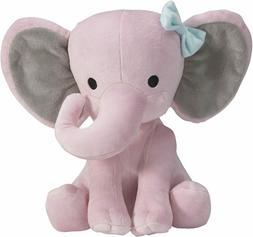 Pink Stuffed Elephant Animal Plush Toy for Baby, Girls, Boys