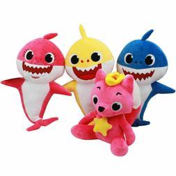 PinkFong Animal Cartoon Stuffed Plush Doll Soft Toys Fox Sha