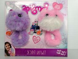 Pomsies Pinky & Speckles Plush Toy 2 Pack