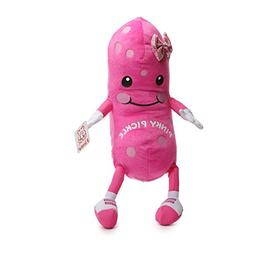Fiesta Toys Pinky Pickle Pink Polka Dot with Hair Bow Girl P