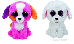 Ty Pippie and Precious Dogs Set of 2 Beanie Boos Stuffed Ani