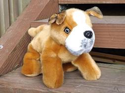 """Pitbull Puppy Plush Toy Dog - 12"""" Stuffed Animal Pitbull Pup"""