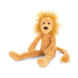 Jellycat Pitterpat Lion Stuffed Animal, 15 inches