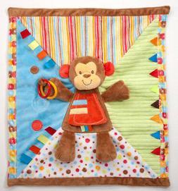 """PlayTivity Monkey Blankee 18"""" by Douglas Cuddle Toys"""