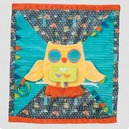 "PlayTivity Owl Blankee Blanket 17"" by Douglas Cuddle Toys"