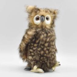 "Hansa Plush - 10"" Youth Brown Owl"