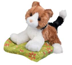 Plush 8 Maps Calico Cat