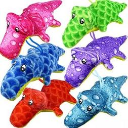 """Plush Alligators Assortment Toy For Kids """"Value Pack Of 6 Co"""