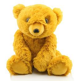 plush bear stuffed animal toy cute golden