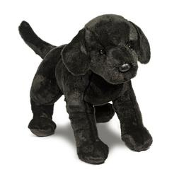 Plush Large Black Lab-James 23