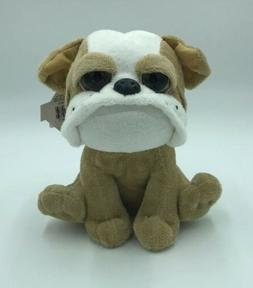 The Petting Zoo Plush Bulldog Stuffed Animal Toy New