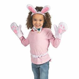 Plush Bunny Accessories Set - Apparel Accessories - 5 Pieces