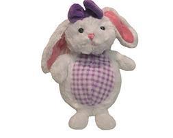 Kids Preferred Plush Bunny-Purple Plaid